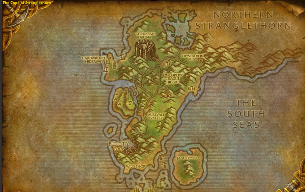 cape of stranglethorn