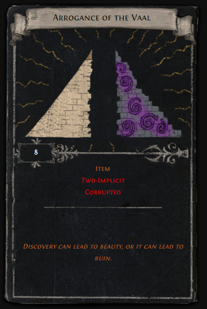 Arrogance of the Vaal