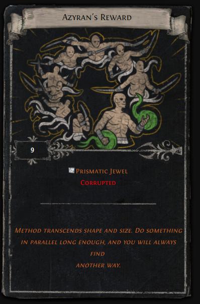 Azyran's Reward