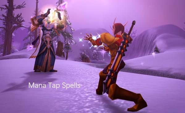 Mana Tap Blood Elf