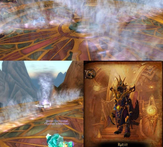 The key to survival is to move between the walls of wind nimbly - Skyreach - Dungeons - World of Warcraft: Warlords of Draenor - Game Guide and Walkthrough