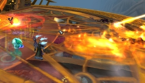 Eventually, your opponent - Viryx - is going to require, of you, attention and quick switching between targets during the battle - Skyreach - Dungeons - World of Warcraft: Warlords of Draenor - Game Guide and Walkthrough